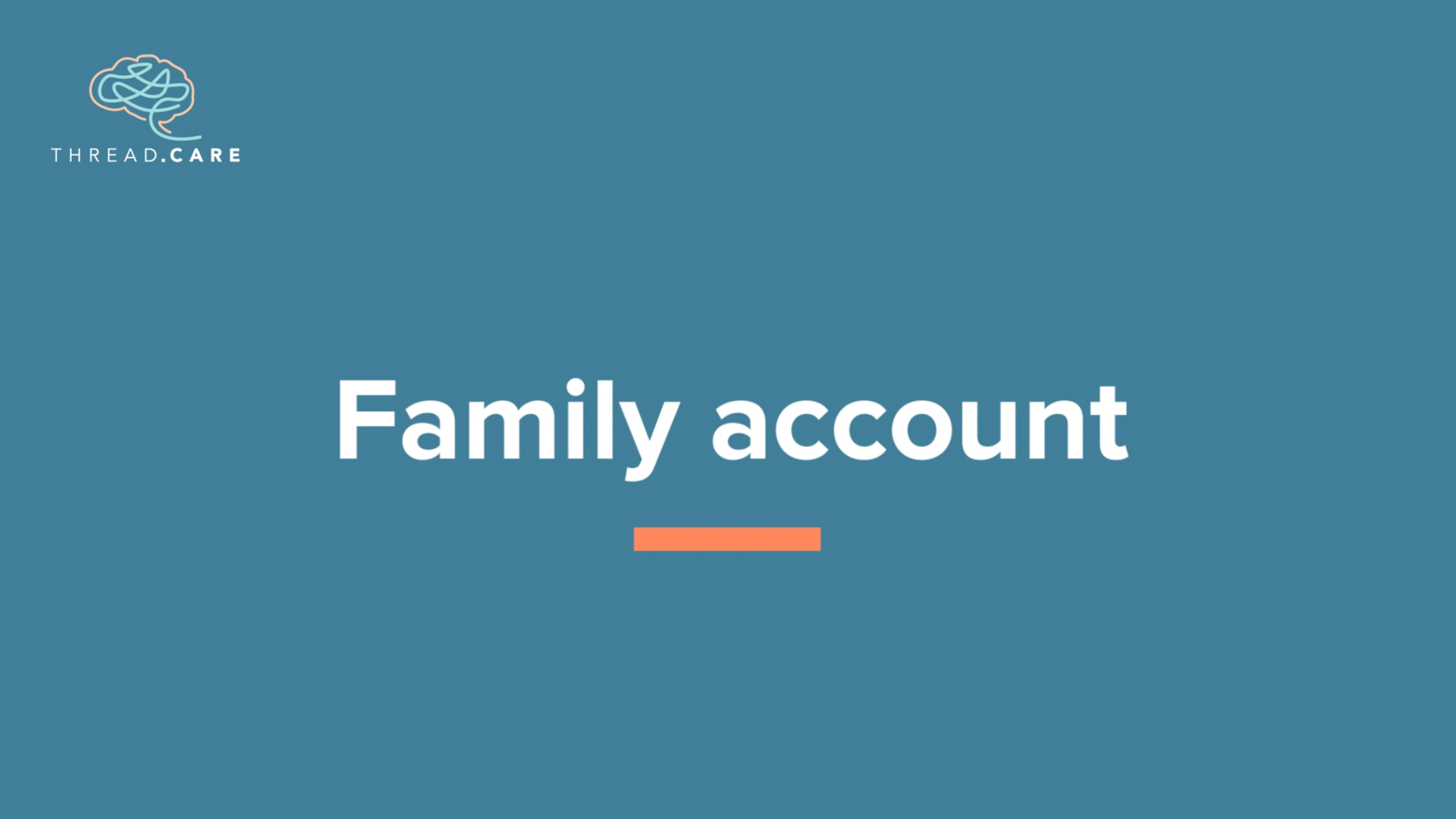 Family Accounts
