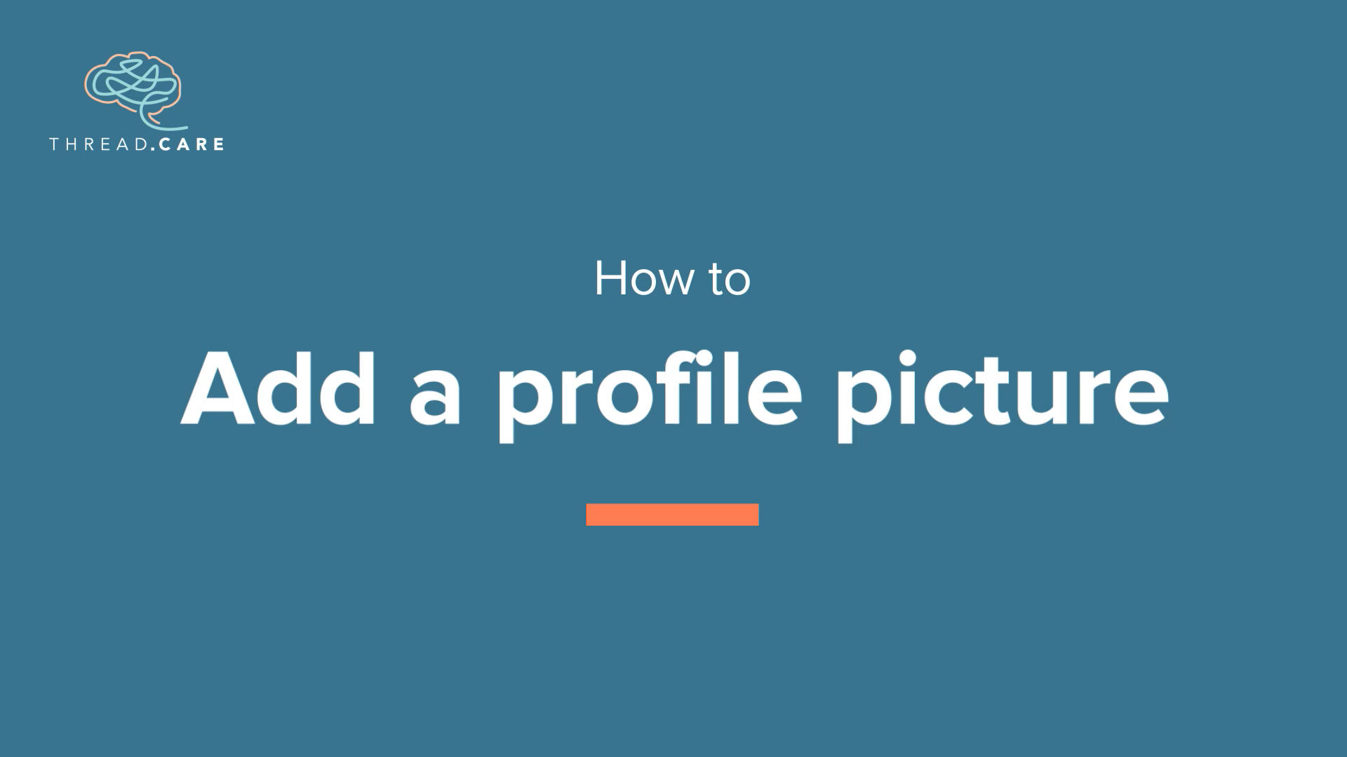 Add a Profile Picture