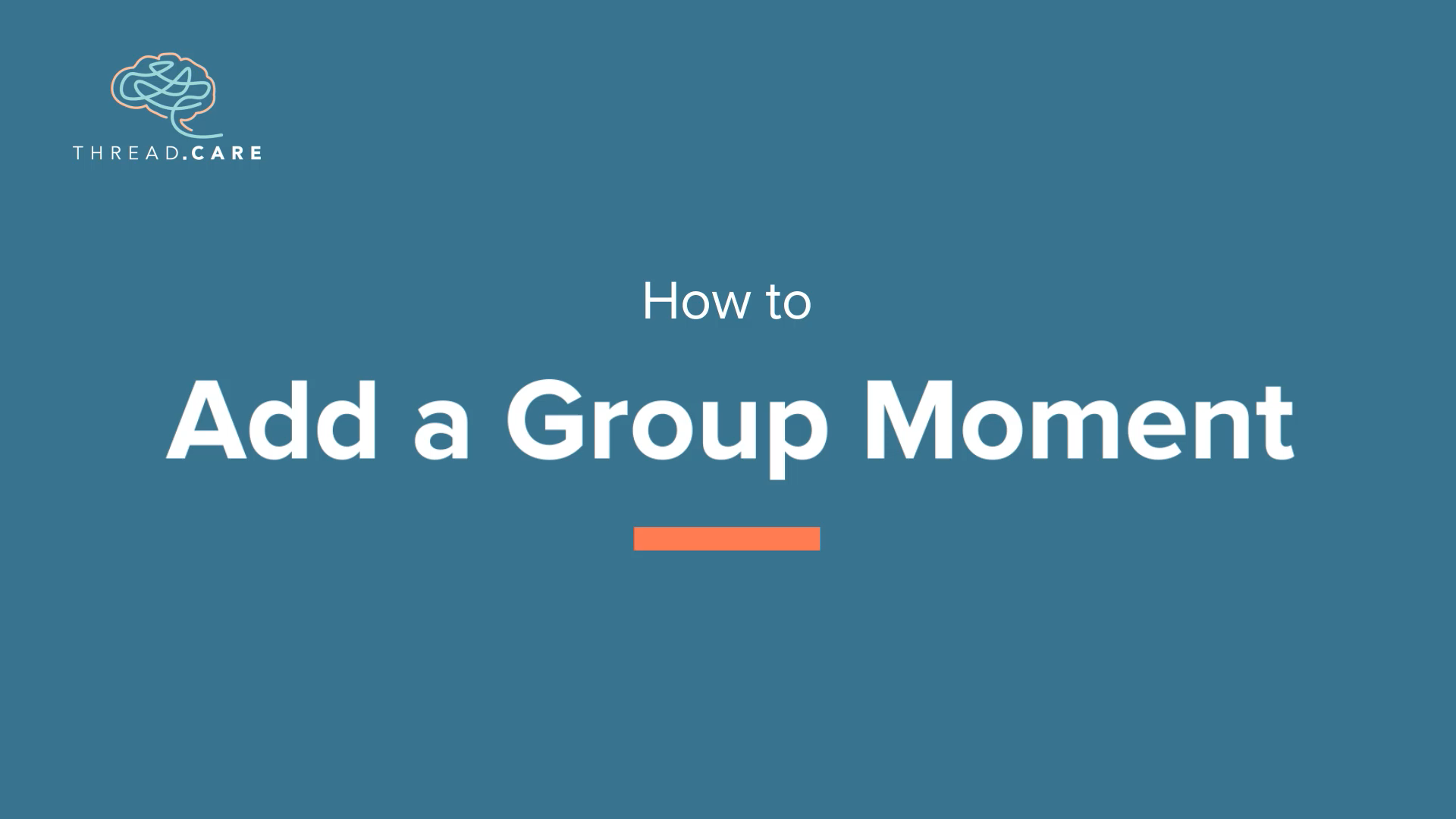 Add a Group Moment